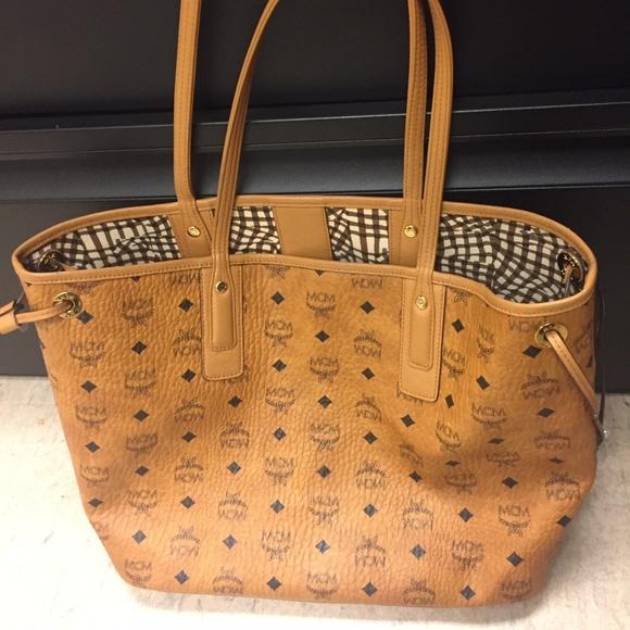 30a1711c5 MCM Bags | Shopper Tote Bag | Poshmark